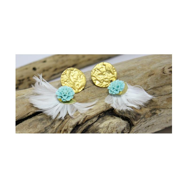 BOUCLES D'OREILLES: Ref BO 595 - photo vitrine